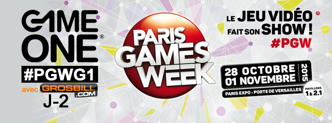 PGW : J-02 Game One et Grosbill
