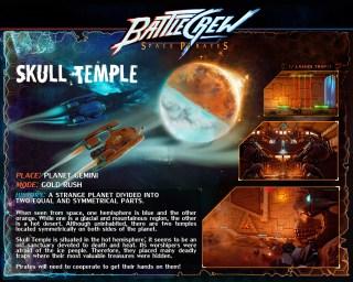 BATTLECREW Space Pirates : Skulltemple Map