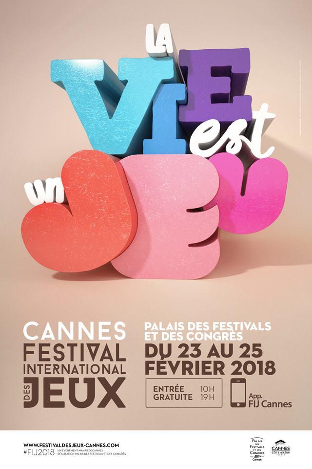 Festival International des Jeux CANNES 2018