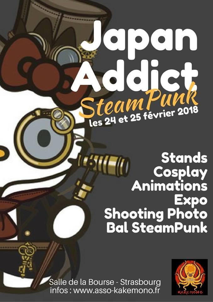 Japan Addict Pocket #25 : SteamPunk