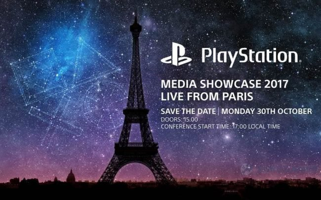 Paris Games Week 2017 - Conférence Playstation