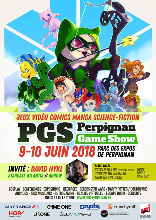 Perpignan Game Show 2018