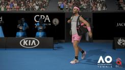 AO International Tennis : Screenshot
