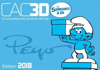 CAC3D Les Schtroumpfs & Cie (ed. 2018)