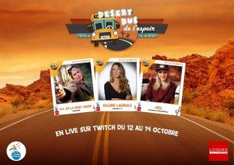 Desert Bus #6 : Ivy (Noob), Salomé Lagresle et Jeel