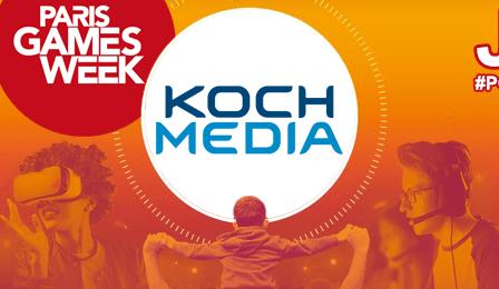 Paris Games Week 2018 : Koch Media