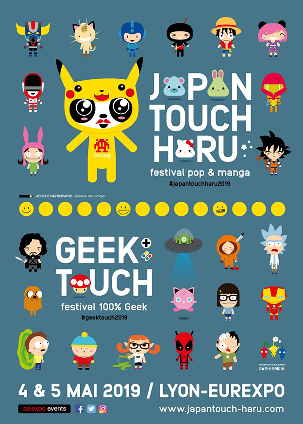 Japan Touch Haru & Geek Touch 2019