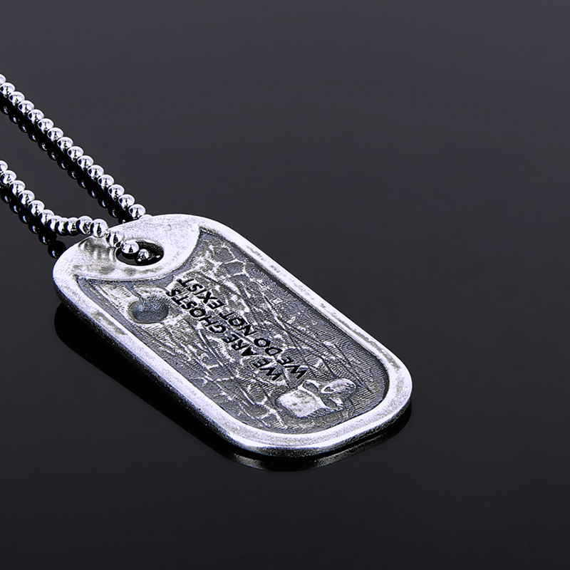 "Dog Tag ""The Lucky Ghost"" officiel Ghost Recon Breakpoint Edition Limité"