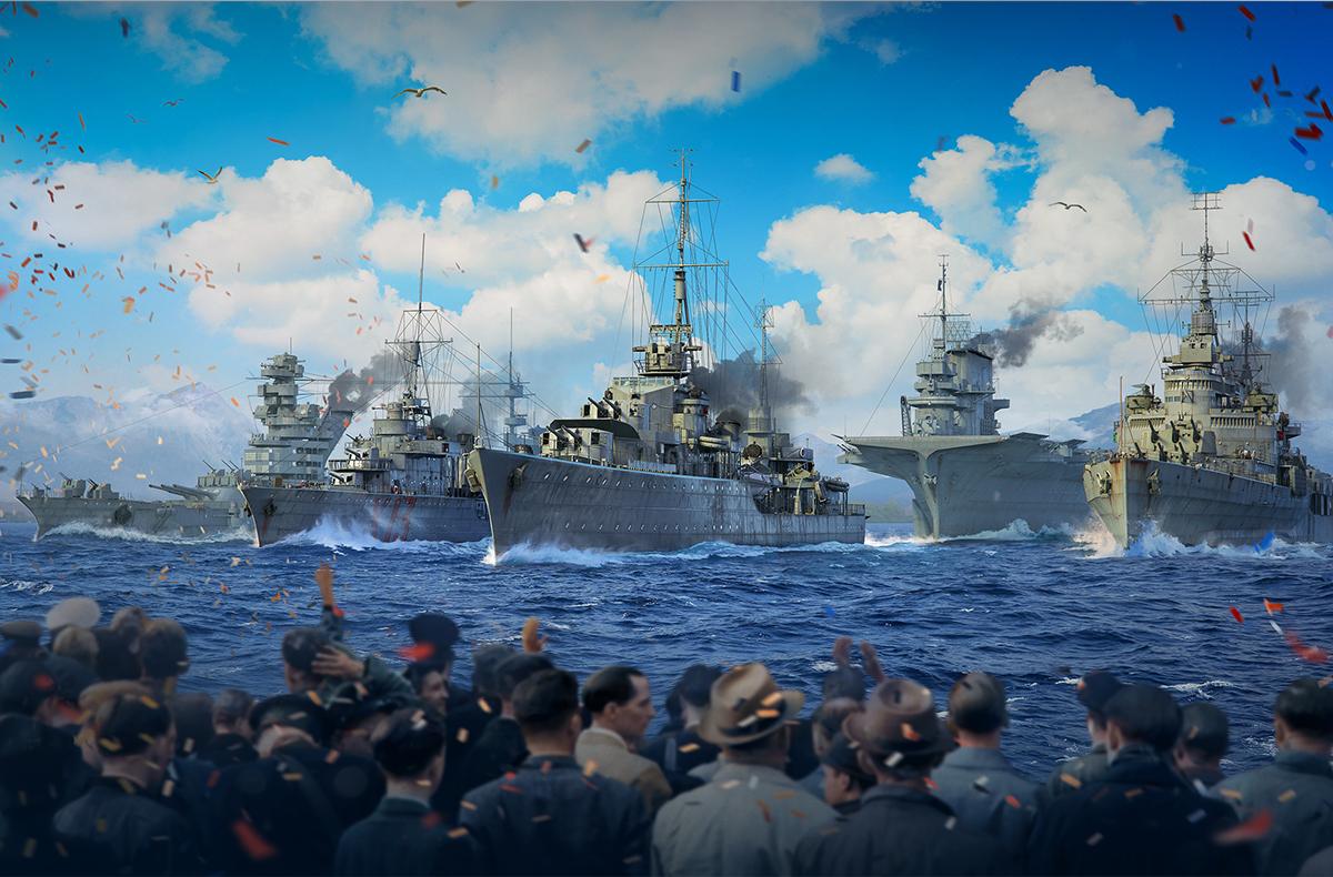 World of Warships : Virtual Navy Parade