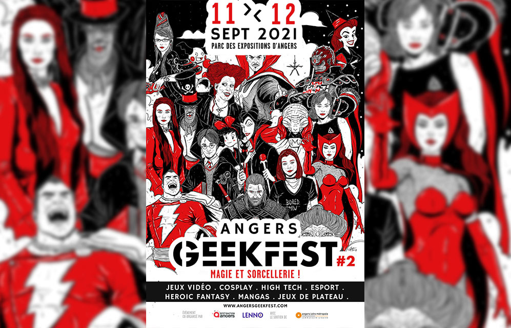 Angers Geekfest 2021.2 : Magie et Sorcellerie
