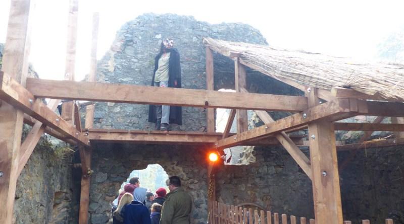 Halloween auf der Burg Frankenstein