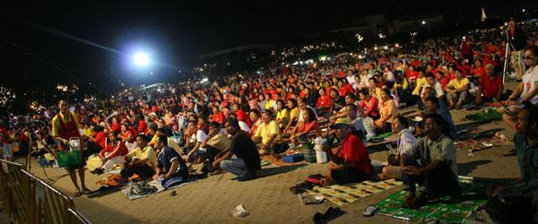Les partisans de Thaksin ne fêteront pas son anniversaire à Sanam Luang