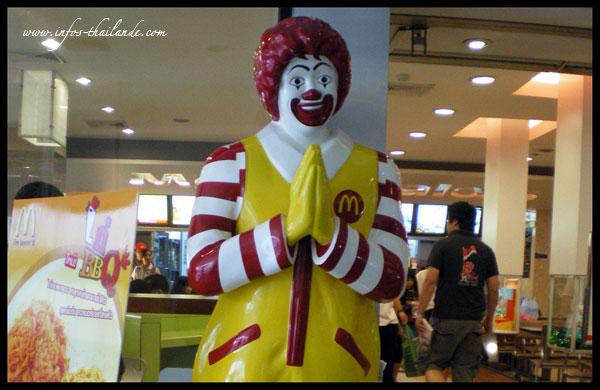 McDonald's nouveau sponsor de la fédération thaïlandaise de football !