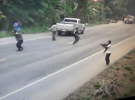 4 soldats tués dans une embuscade à Pattani