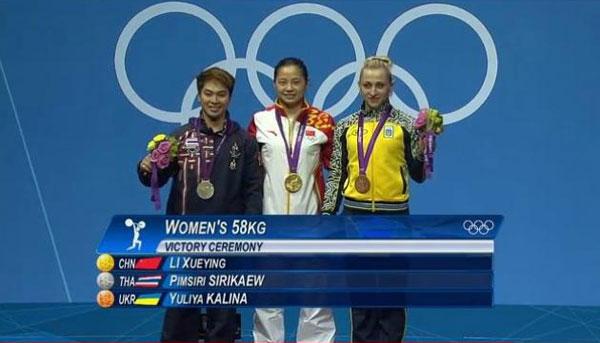 Londres 2012 : Pimsiri Sirikaew offre une première médaille à la Thaïlande