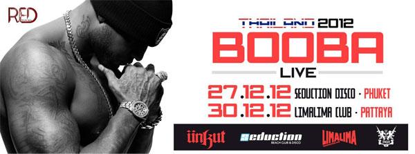 Booba en concert à Phuket et Pattaya