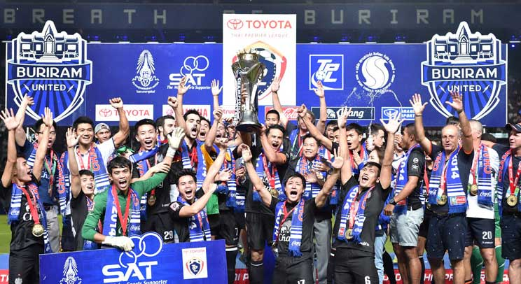 Thai Premier League : Buriram United conserve son titre de champion !