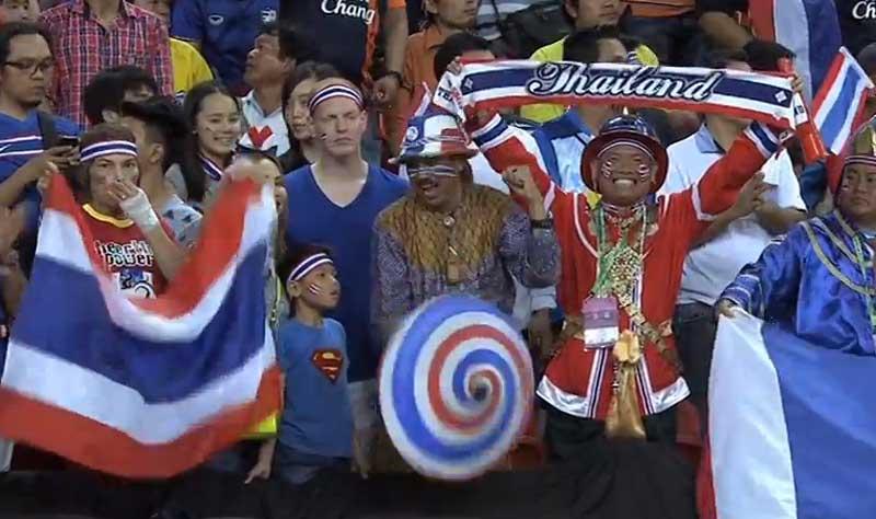 AFF Suzuki Cup : la Thaïlande l'emporte 2-1 contre Singapour