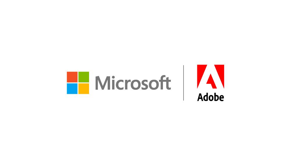 Adobe e Microsoft