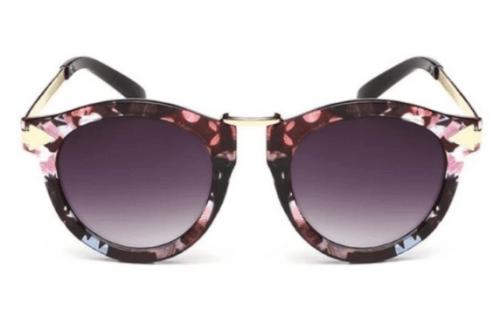 hadiah untuk wanita cermin mata hitam retro