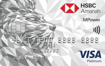 HSBC Amanah MPower Platinum Credit Card-i