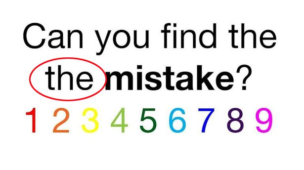 THE ERROR .