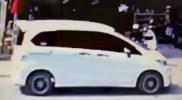 Mobil Pelaku Pemeras Pengusaha Pangkalan Gas Elpiji Terekam CCTV