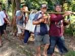 Kakek Hanyut Terbawa Arus Sungai Rappang Berhasil Ditemukan