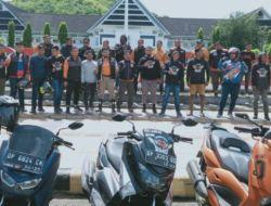 Sulsel Moto X RMS Lakukan Touring ke Sejumlah Daerah