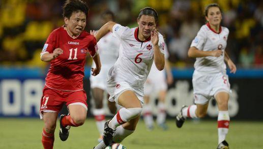 Canada W17 en deuxième place du Groupe B après match nul contre RDP Corée