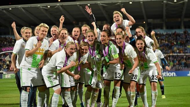Wolfsburg gagne la ligue des champions UEFA féminin