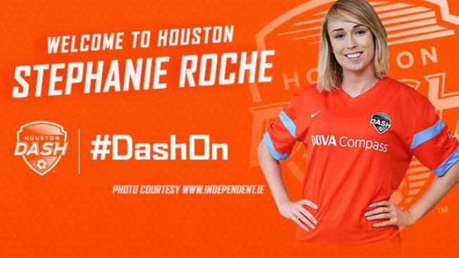Le Houston Dash signe l'internationale Irlandaise Stephanie Roche