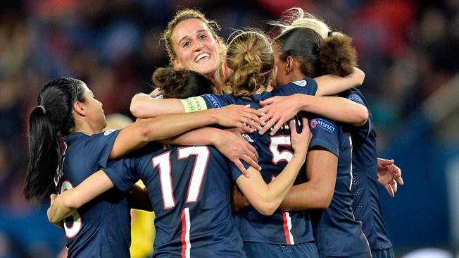 Les filles du PSG en demi-finale contre l'ogre Wolfsburg