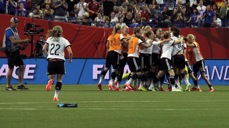 CDM Féminine 2015: L'Allemagne s'est faite peur mais remporte le sommet.