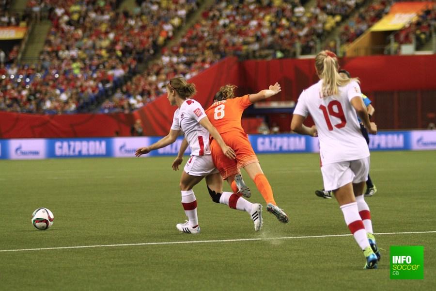 CDM féminine FIFA Canada: Revivez en images Canada v Pays-Bas
