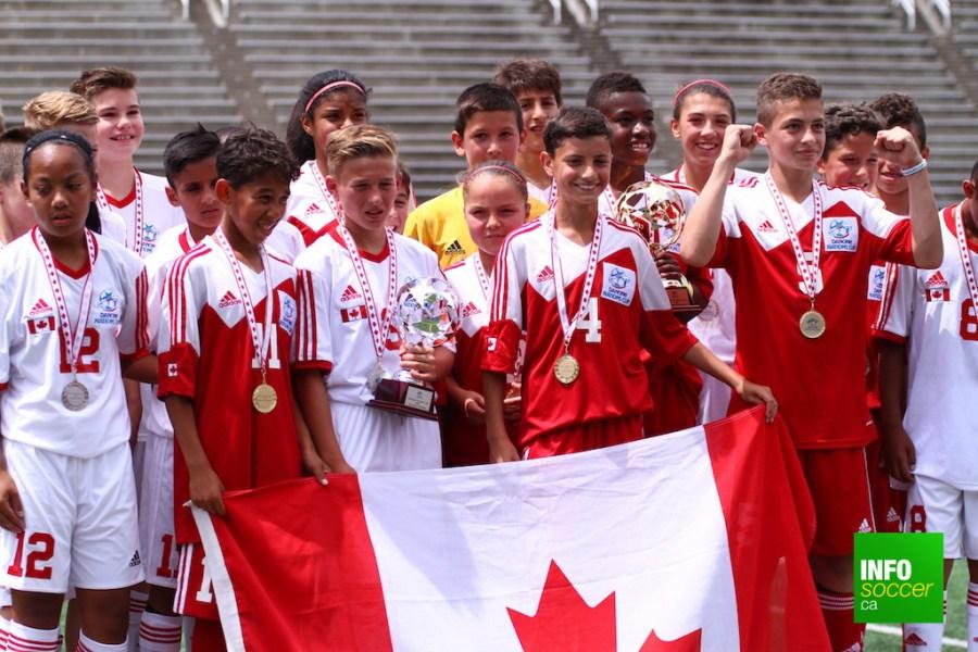 Revivez en images la finale nationale Canadienne de la Coupe Danone