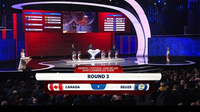 Le Canada affrontera le Belize en route vers Russie 2018