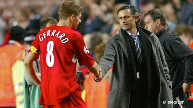 Gerrard: Voici la lettre que Mourinho m'a donné