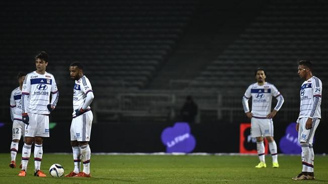 Lyon en déroute face à Montpellier