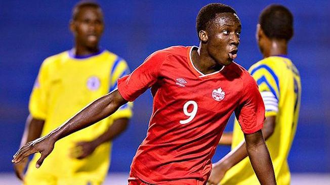 Tabla en nomination comme Joueur U17 de l'année au Canada