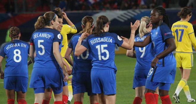 La France se qualifie pour l'Euro 2017 !