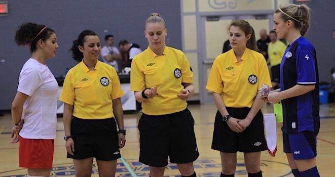 PHOTOS: Toronto Futsal Club v Équipe du Québec féminin