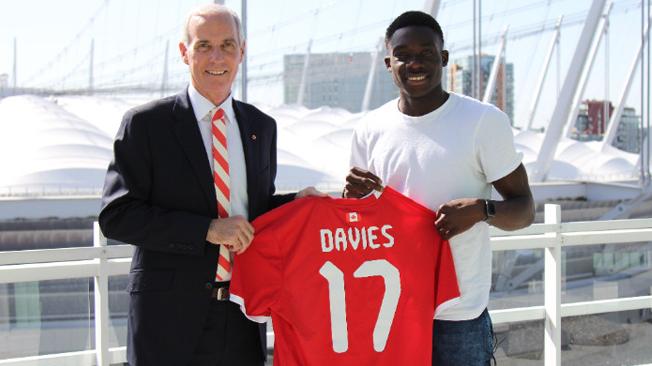 Canada Soccer accueille Alphonso Davies comme nouveau Canadien