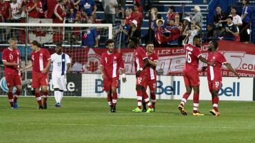 Trois victoires de suite du Canada à domicile pour lancer la Série estival de soccer
