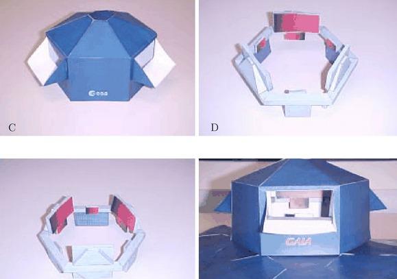 2 PDFs. Modelos de Papel. Observatorio Espacial Gaia