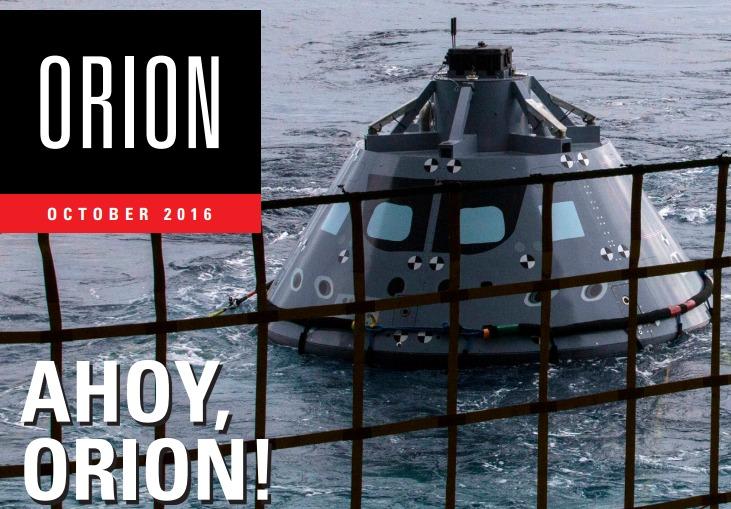 PDF. Revista. Orion Monthly. Octubre 2016