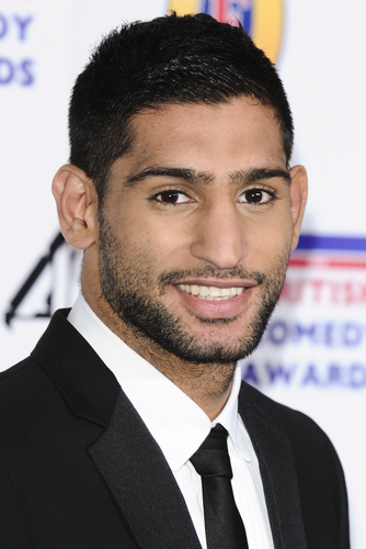 Amir Khan Professional boxer