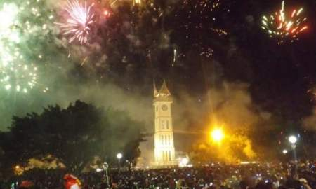 Tahun Baru di Bukittinggi
