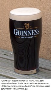 """Guinness"" by Sami Keinänen - www.flickr.com. Licensed under CC BY-SA 2.0 via Wikimedia Commons."