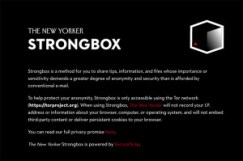Strongbox; The New Yorker.  https://projects.newyorker.com/strongbox/